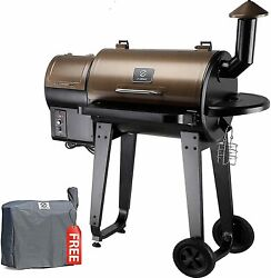 Zpg 450a 2020 Upgrade Wood Pellet Grill Smoker 6 In 1 Bbq Grill Auto Temperature