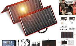300 Watts 12 Volts Portable Foldable Solar Panel Monocrystalline With