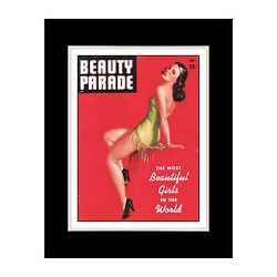 Beauty Parade Magazine - Matted For 11x14 Frame