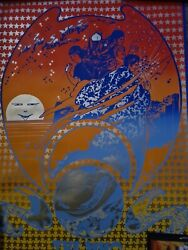The Who I Can See For Miles Poster Original Rare 1st Print 1967 Osiris Visions