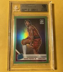 Kevin Porter Jr 2019-20 Donruss Optic Rated Rookies Lime Green /149 🔥bgs 10🔥