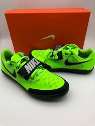 Nike Zoom Sd 4 Throwing Track Field Shoes Menand039s Electric Green 685135 300 Sz 13