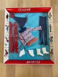 Vintage American Character Cricket Doll 14202 Winter Weekend Fashion 1965 Nrfb