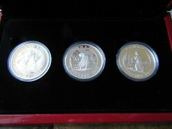 2015 And039cornelius Krieghoffand039 Proof 5 Silver Coins 3 Coin Set From Canadian Mint