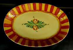 Gail Pittman Pottery Southern Living At Home Siena Oval Platter Mabe
