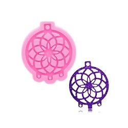 Silicone Mould Dreamcatcher Resin Mold Diy Craft Keychain Epoxy Jewelry Making