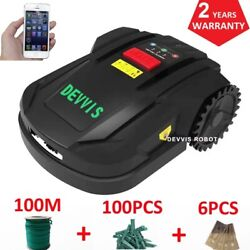 Cheapest Intelligent Rechargeable Lawn Mower Robot Auto Recharge Wifi Control