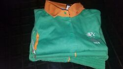 1984 Los Angeles Olympic Official Staff Polo Xl And Stretch Slacks W30l34 Unused