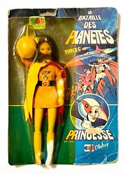 Vintage Ceji Battle Of The Planets Force G Princess Doll Figure New In Card Rare