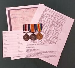 Ww1 British Military Medal And Pair - 15th Bn. Royal Scots