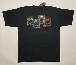 Vintage 1998 Blue Hair Productions Dennis Rodman Sign Of The Times Tee