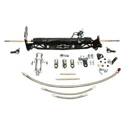 For Chevy C10 Pickup 67-70 Unisteer Hydraulic Power Steering Rack And Pinion Kit