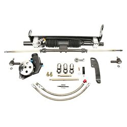For Chevy Chevelle 64-67 Unisteer Hydraulic Power Steering Rack And Pinion Kit