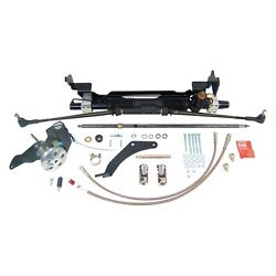 For Ford Fairlane 55-56 Unisteer Hydraulic Power Steering Rack And Pinion Kit