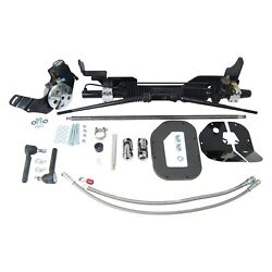 For Ford Custom 300 58-59 Unisteer Hydraulic Power Steering Rack And Pinion Kit