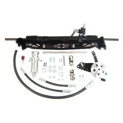 For Chevy C10 Panel 63-66 Unisteer Hydraulic Power Steering Rack And Pinion Kit