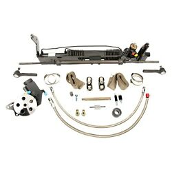For Ford Torino 68-69 Unisteer Hydraulic Power Steering Rack And Pinion Kit