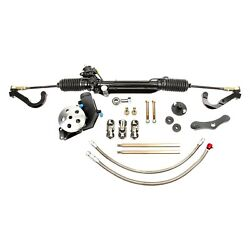 For Chevy Camaro 67-69 Unisteer Hydraulic Power Steering Rack And Pinion Kit
