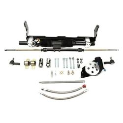 For Chevy Impala 58-64 Unisteer Hydraulic Power Steering Rack And Pinion Kit
