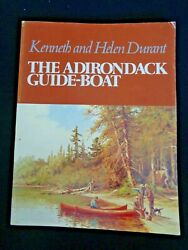 Adirondack Guide-boat Spruce Canoe Museum By Kenneth Helen Durant Spruce 1980