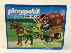 Playmobil Country 5228 Building Toy Covered Wagon Horse Figures 30 Pieces Sealed