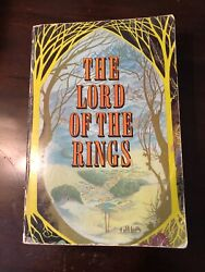Jrr Tolkien The Lord Of The Rings True First Edition Omnibus Allen And Unwin 1968