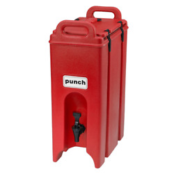 Cambro Ea500lcd158 Beverage Carrier Hot Red