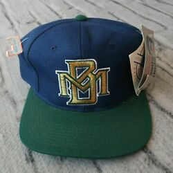 Vintage New Milwaukee Brewers Fitted Hat Cap 90s Sports Specialties