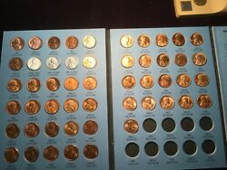1941-58 Lincoln Set Bu -see My Photos Great Gift For Kids Or Grandkids Wow