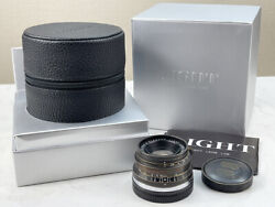 New Light Lens Lab V3lc 35mm F/2 Time Version Leica Summicron M Eight Element