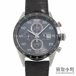 Tag Heuer Carrera Caliber 1887 Car2a11.fc6313 Chronograph Tachymeter Watch Used