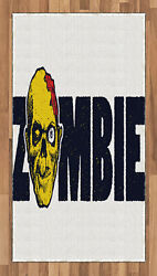 Zombie Area Rug Decorative Flat Woven Accent Rug Home Decor 2 Sizes