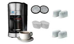 Replacement Charcoal Water Filters For Coffee Makers 6 Or 12 Pack