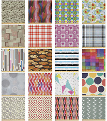 Ambesonne Abstraction Form Microfiber Fabric By The Yard For Arts And Crafts