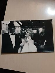 Marilyn Monroe Original Press Photo From France. 9x5.75in Approx
