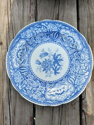 The Spode Blue Room Collection Floral Dinner Plate 10 1/2 Set Of 7