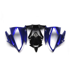 Blue Front Nose For 2006 Yamaha Yzf R6 06 2007 Upper Injection Headlight Fairing