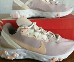 Womens Nike React Element 55 Womenand039s Trainers.uk Size 4.5.eur38.100 Authentic