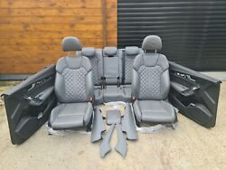 Audi Sq5 Q5 Leather Interior S Line From 2017 Grey Complete Seats Seat Door Card