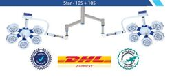 Dual 105+105 Examination Ot Light Operation Theater Led Surgical Operating Lamp