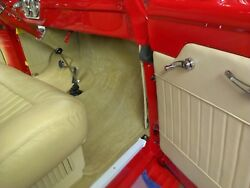 53-55 Ford Pickup Interior Headliner Kitandvisor Covers Drandkick Panels Carpet Kit