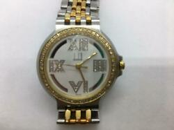 Dunhill Elite Diamond Concept Menand039s Watch Used Excellent From Japan