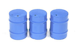Little Buster Toys All Metal Construction Heavy Duty 3 Piece Rodeo Barrels Blue