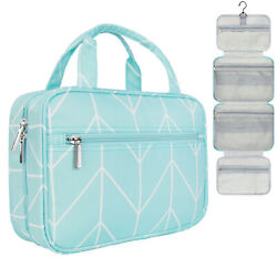Large Travel Cosmetic Makeup Bag Toiletry Hanging Organizer Storage Case Pouch $19.99