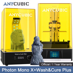 Anycubic Photon Mono X Lcd Sla 3d Printer 192x120x245mm + Wash And Cure Plus Kit
