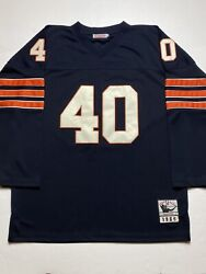 Mitchell Ness Chicago Bears Rare Gale Sayers Rookie Jersey 1965 Nfl 56