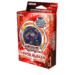 Yugioh Cosmo Blazer Special Edition Mini Box 3 Packs And 1 Of 2 Promo Cards