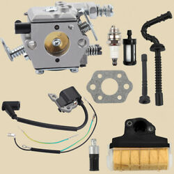 Carburetor Carb Air Filter Set For Stihl Ms210 Ms230 Ms250 021 023 025 Chainsaw