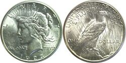 1923-s 1 Silver Peace Dollar Uncirculated