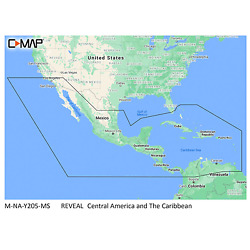 Reveal Chart Central America-caribbean